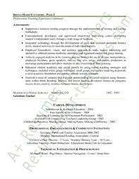Student Teaching Resume Examples by Preschool Teacher Resume Sample Page 2 Teacher And Teacher