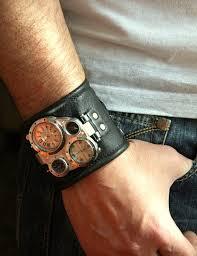 mens bracelet wrist watches images Mens wrist watch leather bracelet quot pathfinder quot sale worldwide jpg