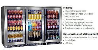 coca cola fridge glass door elecstar lg series 3 glass door big capacity display back bar