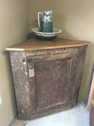 mahogany corner bookcase reclaimed old rustic pine corner cupboard 4ft somerset south west