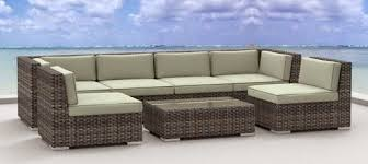 Custom Made Patio Furniture Covers by Recommended Wicker Rattan Outdoor Patio Sofa Set Good Home Good Life