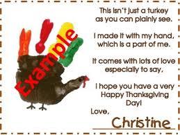 thanksgiving turkey handprint poem and keepsake turkey handprint