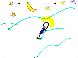 jesus walking on the water flip chart ebibleteacher