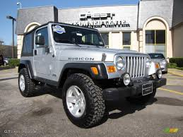 jeep wrangler rubicon 2006 2006 bright silver metallic jeep wrangler rubicon 4x4 27714138