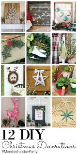 12 diy christmas decorations club chica circle where crafty is
