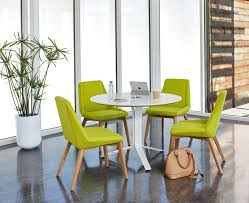 Office Furniture Guest Chairs by Arcadia Vero Meeting Table And Nios Guest Chairs Work Spaces