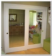 Closet Mirrored Doors Sliding Closet Mirror Doors Dandk Organizer Intended For With
