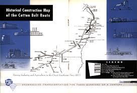 Maps Timeline Louis Southwestern Railroad Cotton Belt Route Historical