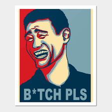 Meme Bitch Please - yao ming bitch please meme bitch please posters and art