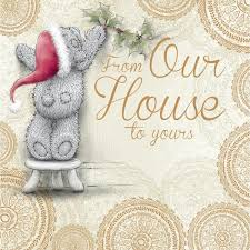 from our house to yours christmas card me to you tatty teddy