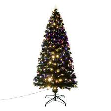 homcom 6 pre lit white led light tree sears marketplace