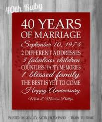 words of wisdom for the happy couple50th anniversary centerpieces 40 year anniversary gifts gifts for parents grandparents