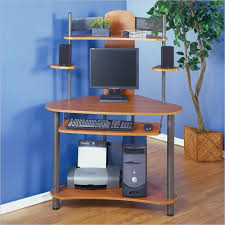 compact computer desk wood studio rta a tower corner wood computer desk with hutch in pewter