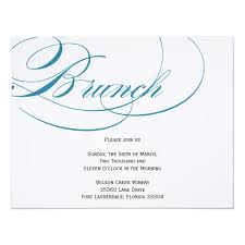 lunch invitation cards script brunch invitation blue invitation card