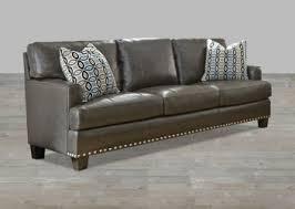 nailhead trim leather sofa teachfamilies org