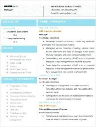 Updated Resume Sample Of Updated Resume Sample Latest Chartered Accountant Resume