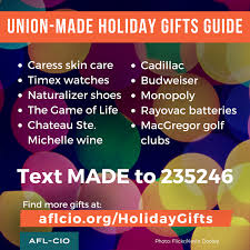 union made in america gift ideas nabet local 25