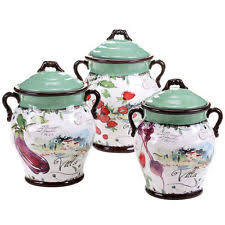 italian style kitchen canisters tuscan style kitchen canister sets tuscan style kitchen canisters