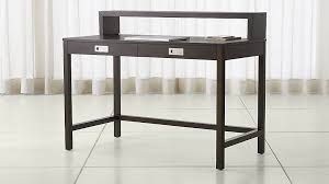 aspect coffee modular desk with hutch crate and barrel