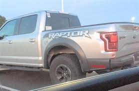 Ford Raptor Truck Bed - 2017 ford raptor silver wheel spy the fast lane truck