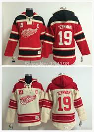 online cheap 19 steve yzerman old time detroit red wings hockey