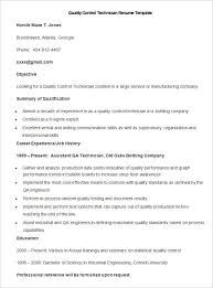 Quality Control Specialist Resume Quality Control Resume Samples And Quality Control Specialist