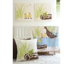 Duck Crib Bedding Set Amenity Nursery Wetlands Crib Set Organic Crib Bedding Organic