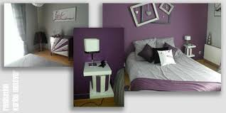 chambre prune et gris beau chambre prune et gris et peinture chambre prune et gris galerie