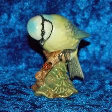 beswick blue 992 bird ornament garden birds by bygoneemporium