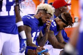 Blind Side Block Penalty Should Odell Beckham Jr Be Fined Suspended For Illegal Block