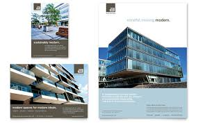 architecture brochure templates free architect brochure template design