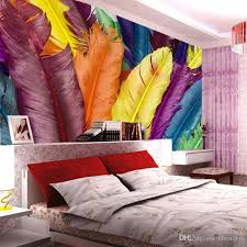 discount feather wallpaper home decor 2018 feather wallpaper