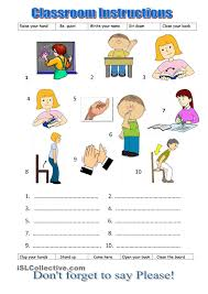 printable instructions classroom classroom instructions fely pinterest worksheets classroom