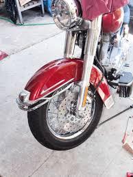 2006 harley davidson heritage softail brake rotors and pads