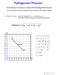 pythagorean theorem definition worksheets math worksheets