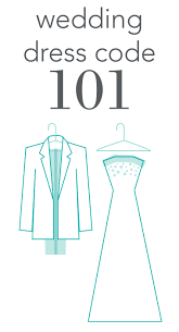 wedding dress code 101 invitations by