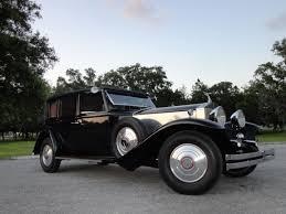 rolls royce vintage 1932 rolls royce phantom ii ajs huntington limousine vintage