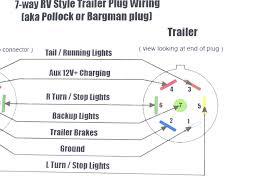 trailer 7 pin wiring diagram wiring diagrams