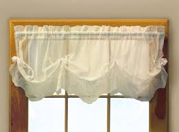 Lace Valance Curtains Curtains Lace Valance Curtains White Swag And Country Battenburg