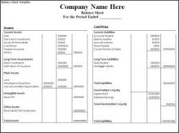 Balance Sheet Template Balance Sheet Template Free Word Templates