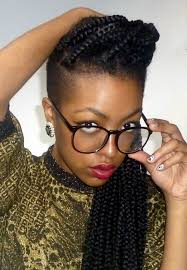 braids with bald hair at the bavk 72 box braids hairstyles with instructions and images beautified