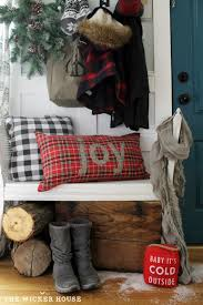 Rustic Christmas Decorations For Outside by 1674 Best Country Christmas Decorating Images On Pinterest