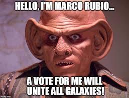 Vote For Me Meme - marco for president imgflip
