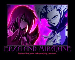 Fairytail Memes - fairy tail memes on twitter erza and mirajane http t co rrjdluxcce