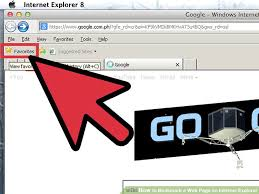 4 ways to bookmark a web page on internet explorer wikihow