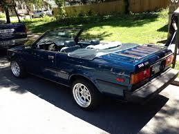 toyota convertible daily turismo 5k coach built 1983 toyota corolla sr5 convertible