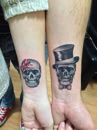 20 skull wrist tattoos design