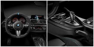Bmw M4 Interior Bmw Tricks Out M4 Coupé With New Bmw M Performance Parts Mocha