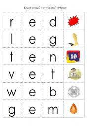 english teaching worksheets cvc words