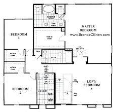 upstairs floor plans black ranch floor plan kb home model 3233 upstairs